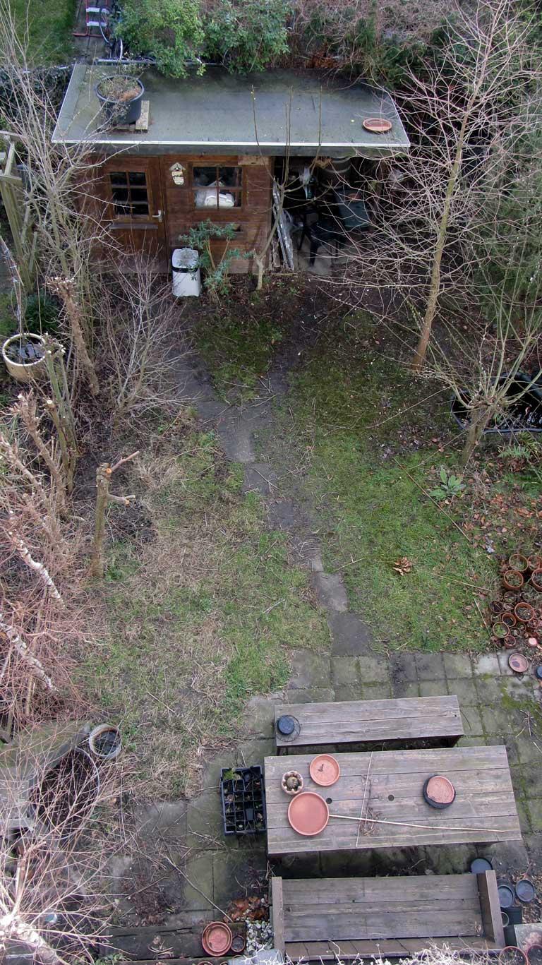 De tuin van Rob en Wiepkje 2015